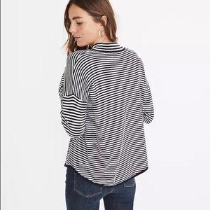 Stripe-Mix Ashbury Mockneck Sweater / MEDIUM /NWT